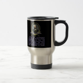 Marquis de Lafayette Quote on Insurrection Stainless Steel Travel Mug
