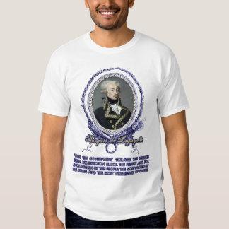 Marquis de Lafayette Quote on Insurrection T Shirt