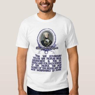 Marquis de Lafayette Quote on Insurrection T Shirts