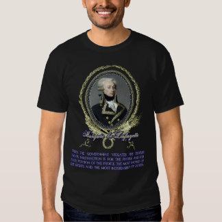 Marquis de Lafayette Quote on Insurrection Tee Shirt