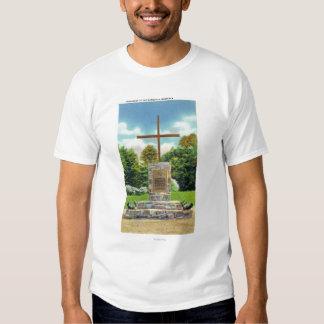 Marquis de Montcalm Monument Scene Tee Shirt