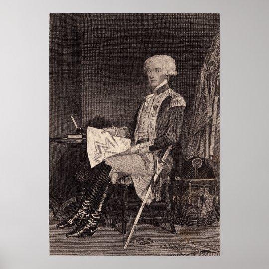 Marquis du Lafayette Poster