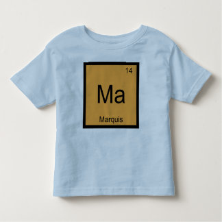 Marquis Name Chemistry Element Periodic Table Tee Shirts