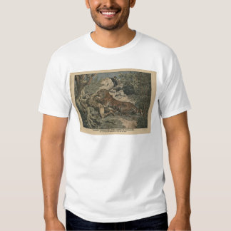 Marquis of Barthelemy wounded by a tiger Tee Shirts