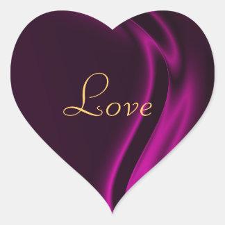 Marquis Pink Heart Love Sticker