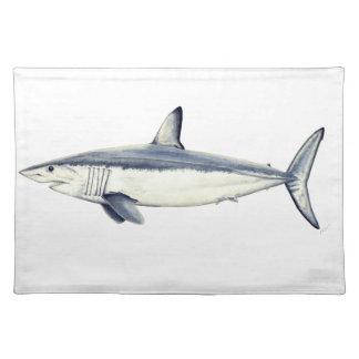 Marrajo - Isurus oxyrinchus-Shark Placemat