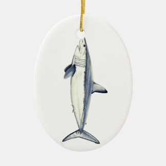 Marrajo shark - Christmas adornment Christmas Ornament