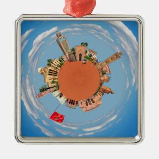 marrakech little planet morocco travel tourism lan christmas ornament