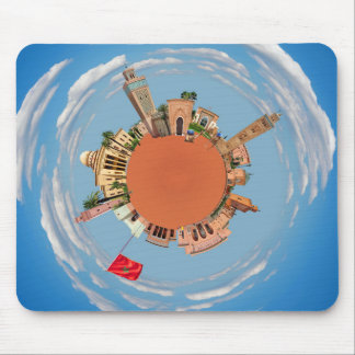 marrakech little planet morocco travel tourism lan mouse mat