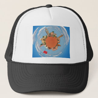 marrakech little planet morocco travel tourism lan trucker hat
