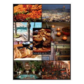 Marrakech - Morocco - Postcard
