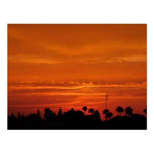 Marrakech Sunset Postcard