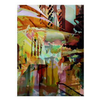 Marrakesh Arches Poster