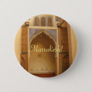 Marrakesh, Morocco 6 Cm Round Badge