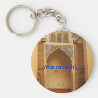 Marrakesh, Morocco Key Ring