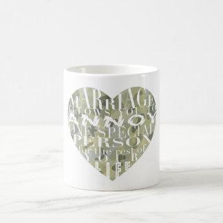 Marriage, allows you to Annoy (camo)- His Mug