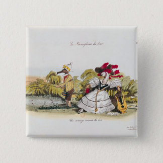 Marriage by the Book 15 Cm Square Badge