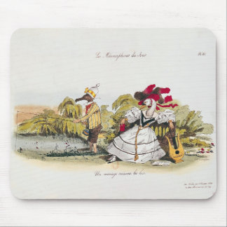 Marriage by the Book Mouse Mat