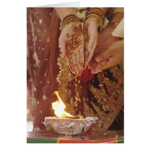Marriage Ceremony Notecard Greeting Cards