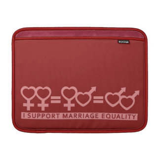 "Marriage Equality custom 13"" MacBook sleeve"