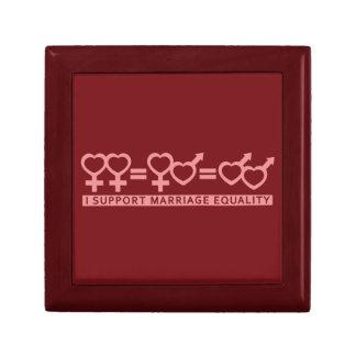 Marriage Equality custom gift / jewelry box