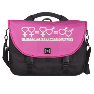 Marriage Equality custom laptop bag