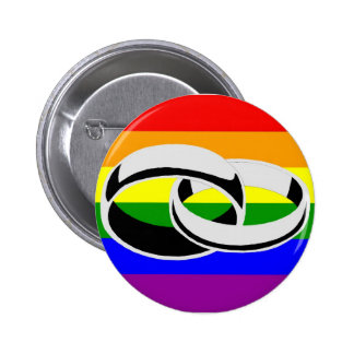 Marriage equality Gay Pride Button Pin