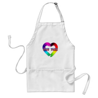 Marriage Equality in New York GBLT Design Standard Apron