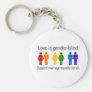 Marriage Equality Keychain