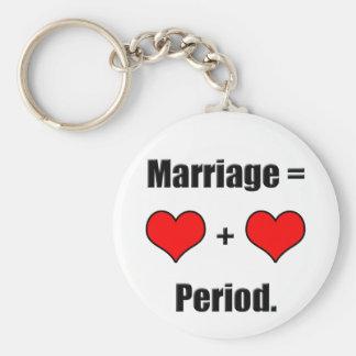 Marriage Equality Keychain