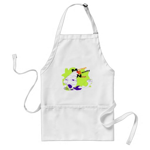 Marriage Equality Now! Apron
