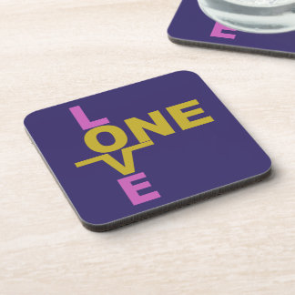 Marriage Equality / One Love custom coasters