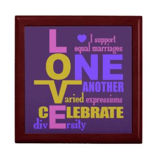 Marriage Equality / One Love custom gift box