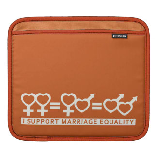Marriage Equality / One Love custom iPad sleeve