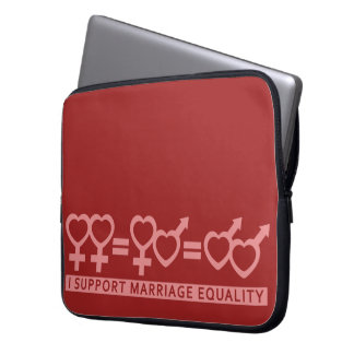 Marriage Equality / One Love custom laptop sleeve