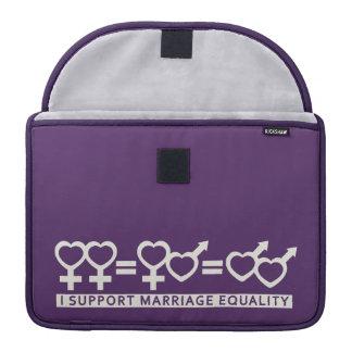 Marriage Equality / One Love custom MacBook sleeve