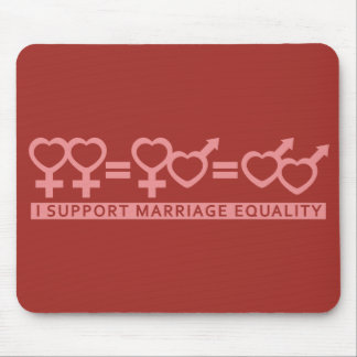 Marriage Equality / One Love custom mousepad