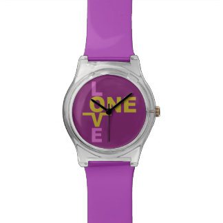 Marriage Equality / One Love custom watches
