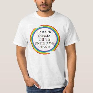 MARRIAGE EQUALITY RAINBOW OBAMA T-SHIRT
