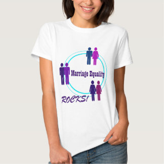 Marriage Equality ROCKS! Updated with Obama Quote T Shirts