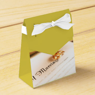 Marriage Favor Boxes