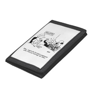 Marriage Guidance. Fun not completely gone Tri-fold Wallet