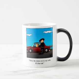 "Marriage Humor ""Speeding Ticket"" Mug Gift"