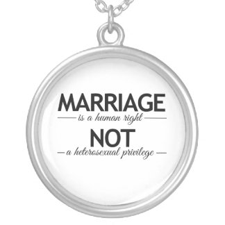 MARRIAGE IS A HUMAN RIGHT -.png Custom Jewelry