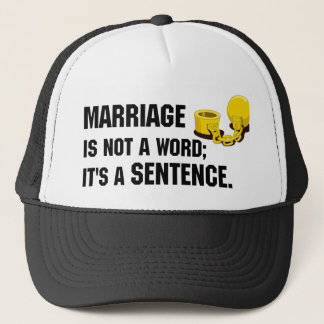 Marriage Is Not A Word Hat