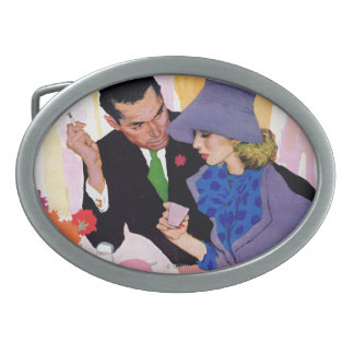 Marriage Is Not For Me Oval Belt Buckles