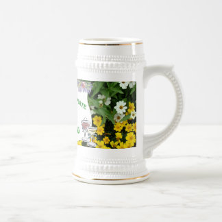 Marriage memories; Celebrate, It's your wedding Beer Stein