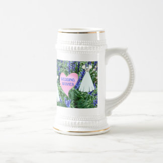 Marriage memories; Wedding wishes Beer Stein