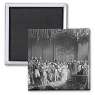 Marriage of Queen Victoria  and Prince Albert Magnet