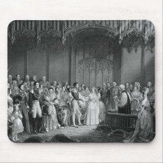 Marriage of Queen Victoria  and Prince Albert Mouse Mat